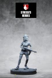 French Resistance  SOE – Simone Segouin aka Nicole Minet