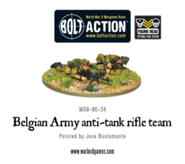 Belgian Army anti-tank rifle team