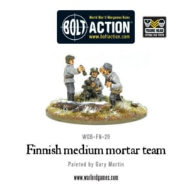 Finnish medium mortar team