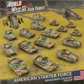 American Starter Force: Armoured Cavalry Troop