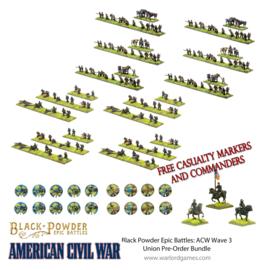 Pre-order: American Civil War Wave 3 Union Pre-Order Bundle