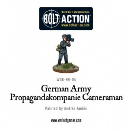 German Army Propagandakompanie Cameraman