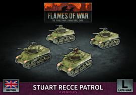 Stuart Recce Patrol (Plastic)