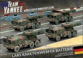 Raketenwerfer Batterie
