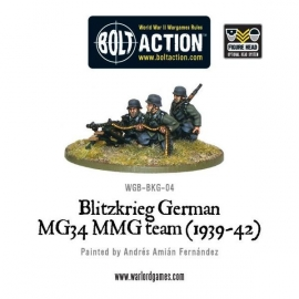 Blitzkrieg German MG34 MMG team (1939-42)