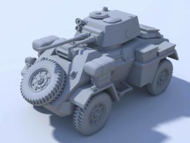 Humber Armoured Car MK II - 1/56 Scale