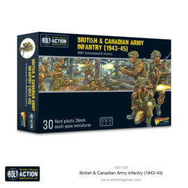 Pre-order: British & Canadian Army infantry (1943-45)