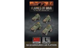 BA-64 Armoured Car Platoon (Plastic)