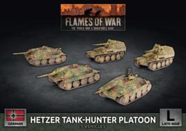 Pre-order: Hetzer Tank-Hunter Platoon (Plastic)