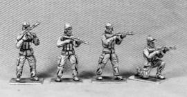 Modern Soldiers with Insurgent Heads (UN04A INSURGENT HEADS)