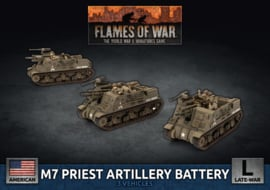 M7 Priest Artillery Battery (Plastic)