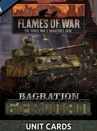 Bagration German Unit Cards (70x)