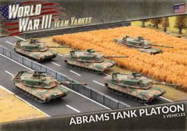PRE ORDER: Abrams Tank Platoon (Plastic) (2020 kit)