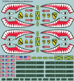 American Decal Set