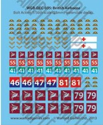 British Airborne decals
