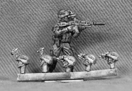 Russian Heads with Night Vision Goggles (RUS09)
