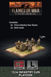 15cm Infantry Gun Platoon