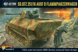 Sd.Kfz 251/16 Flammpanzerwagen plastic box set