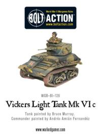 Vickers Light Tank Mk VIC