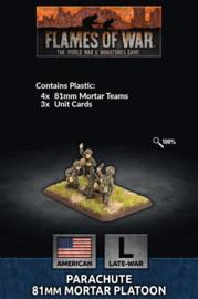 Parachute 81mm Mortar Platoon (Plastic)