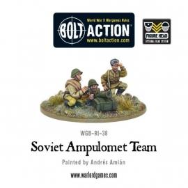 Soviet Ampulomet Team