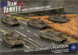 NATO Leopard 1 Tank Platoon (x5 Plastic)