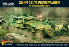 Sd.Kfz 2517C Pionierwagen with panzerbüchse 41