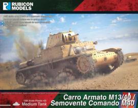 Pre-Order: Carro Amato M13/40 / Semovente Comando M40