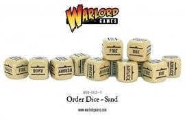 Order Dice - Sand