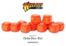Order Dice - Red