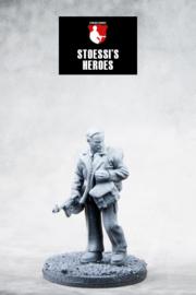 """British Army Lieutenant (SAS) – John Steel """"Jock"""" Lewes"""