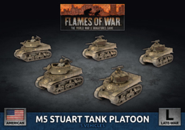 M5 Stuart Light Tank / Scott Platoon (Plastic)