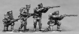 German Riflemen Firing/Loading (GER04)