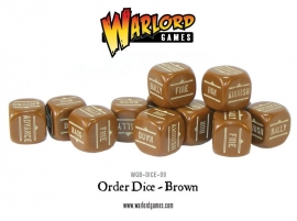 Order Dice - Brown