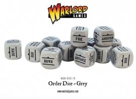 Order Dice - Grey