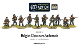 Belgian Chasseurs Ardennais Squad
