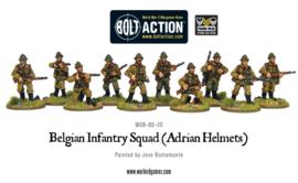 Belgian Infantry Squad (Adrian Helmets)