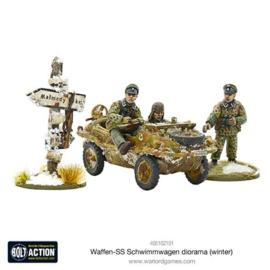 Waffen-SS Schwimmwagen diorama (winter)