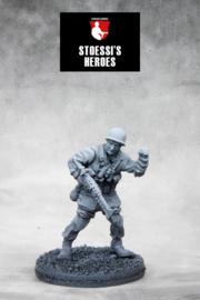 German Fallschirmjäger Major – Rudolf Witzig