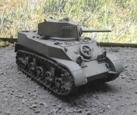 M5A1 Stuart - 1/56 Scale