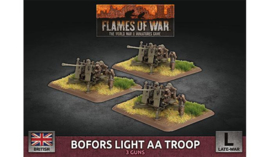 Bofors Light AA Troop (Plastic)