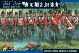 Napoleonic British Line Infantry (Waterloo campaign)