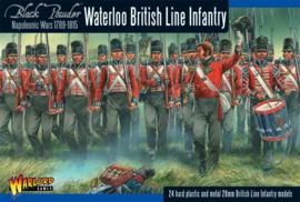 Napoleonic British Line Infantry (Waterloo campaign)