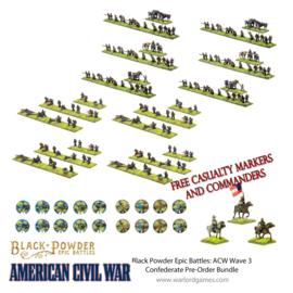 Pre-order: American Civil War Wave 3 Confederate Pre-Order Bundle