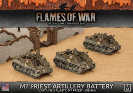 M7 Priest Armored Artillery Battery (Plastic)