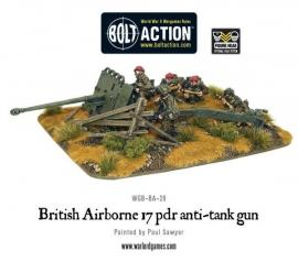 British Airborne 17 pdr anti-tank gun
