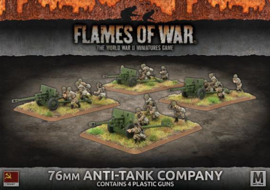 76mm Anti-Tank Company (Plastic)
