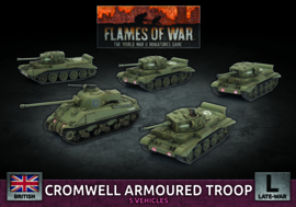 Cromwell Armoured Troop (Plastic)