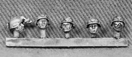 US Rangers Heads with 'Mich' Helmets (RAN10)