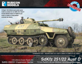 SdKfz 251/22 Ausf D (upgrade kit)